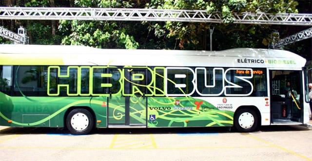 Ônibus Híbrido SPTrans