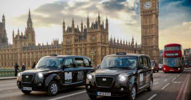 Táxi Elétrico de Londres