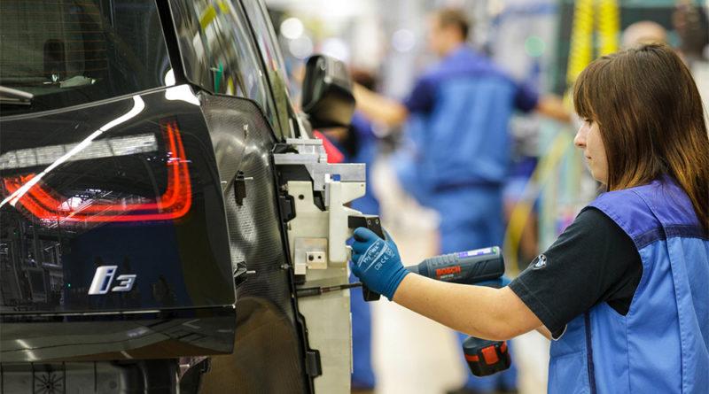 Linha de Montagem do BMW i3