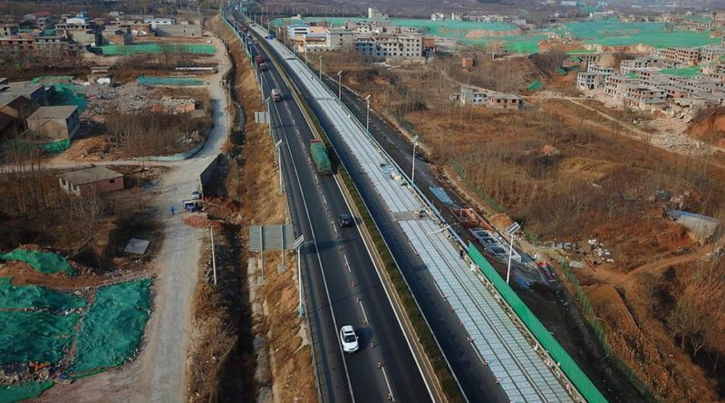 Solar China Roadway