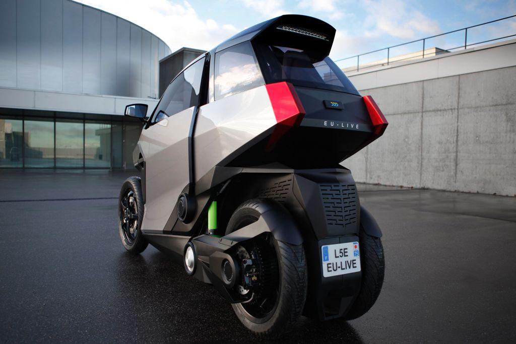 Conceito da Peugeot Scooters