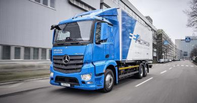 Mercedes EActros - Caminhão Elétrico