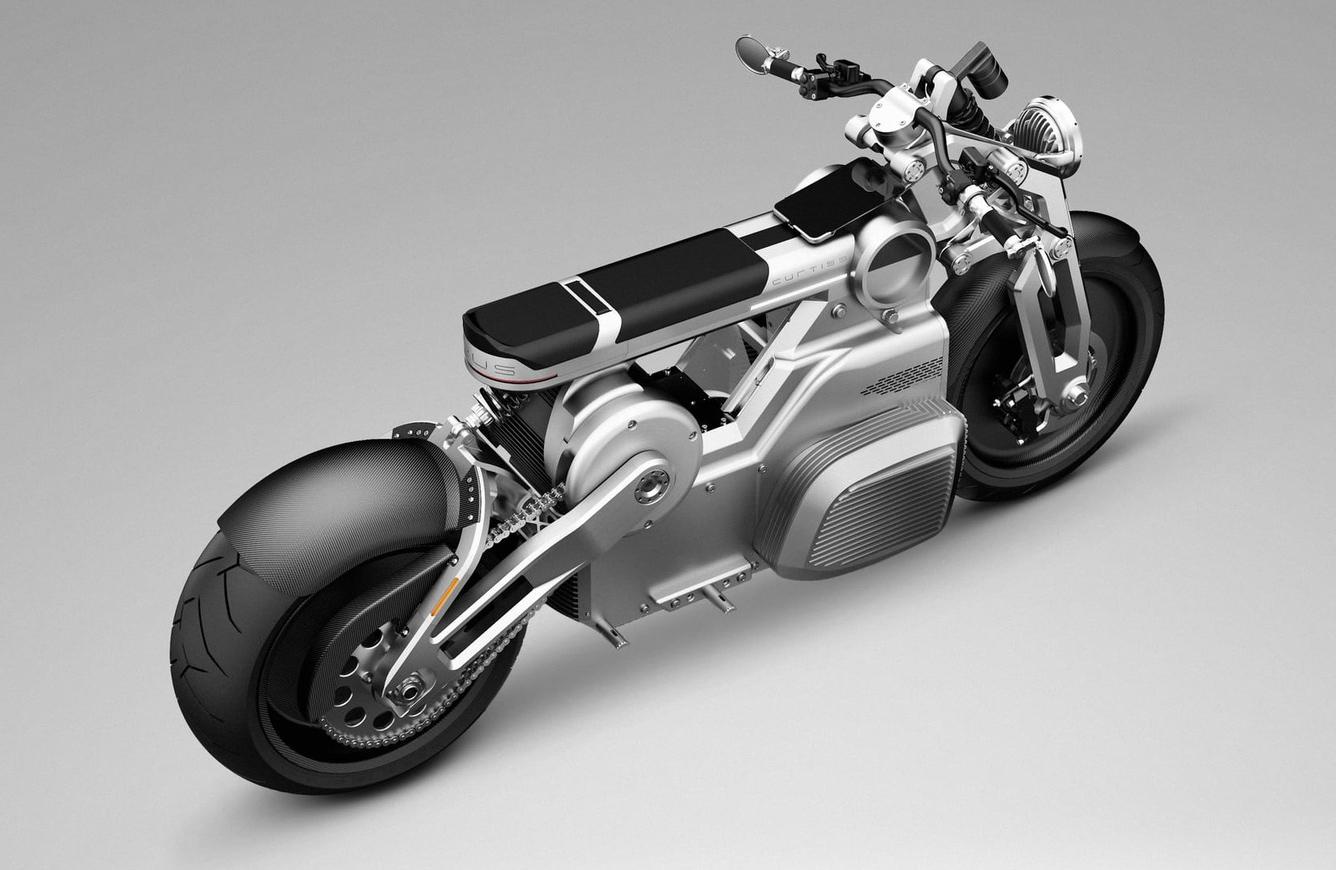 Moto elétrica Curtiss Zeus (Conceito)