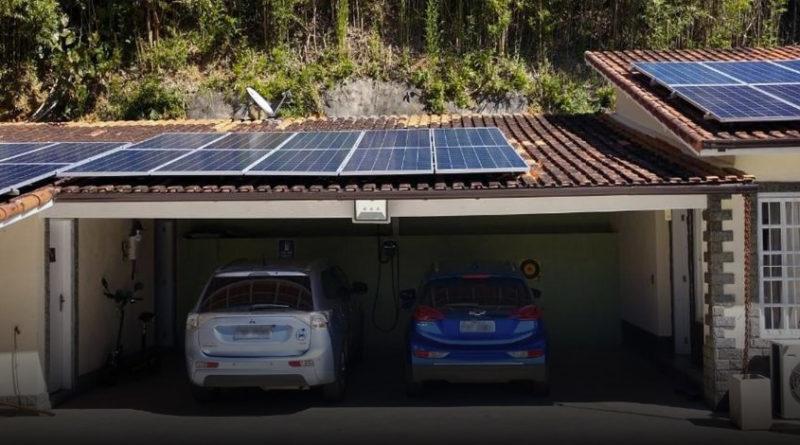 Garagem Carros Elétricos