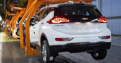 Fabricação Chevrolet Bolt