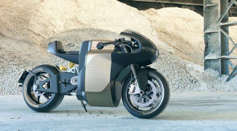 Moto elétrica Manx7