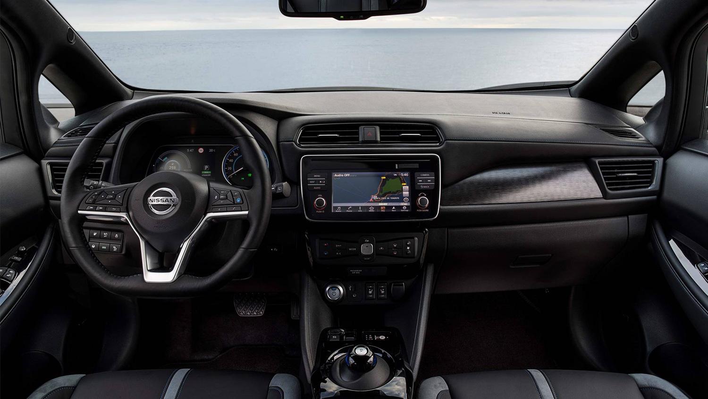 Painel Nissan Leaf 2018