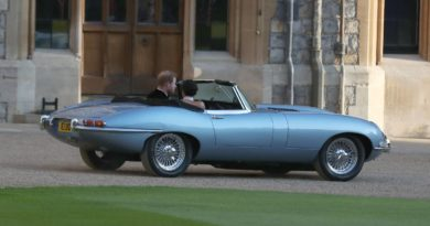 Jaguar E-Type Príncipe Harry