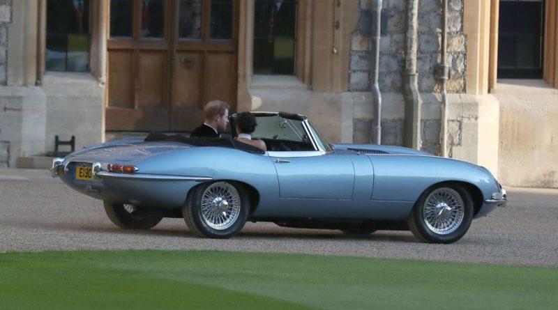 Jaguar E-Type Príncipe Harry