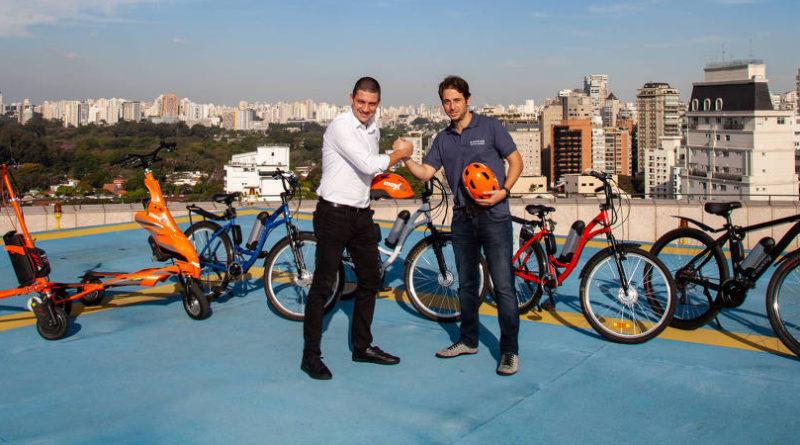 Movida e E-Moving - Aluguel de Bicicleta Elétrica