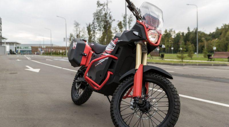 Moto Elétrica Kalashnikov