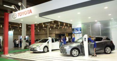 Toyota Stand Veículo Elétrico Latino-Americano 2018