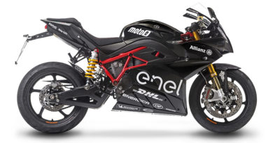 Moto Elétrica Energica Ego Sport Black