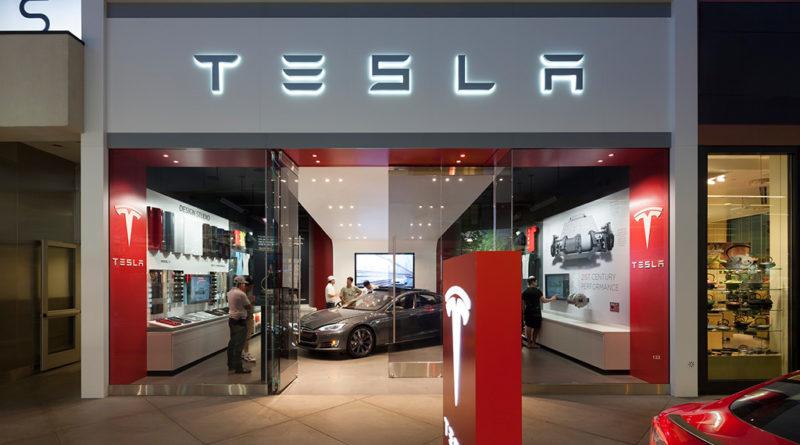 Loja Tesla em Los Angeles - EUA
