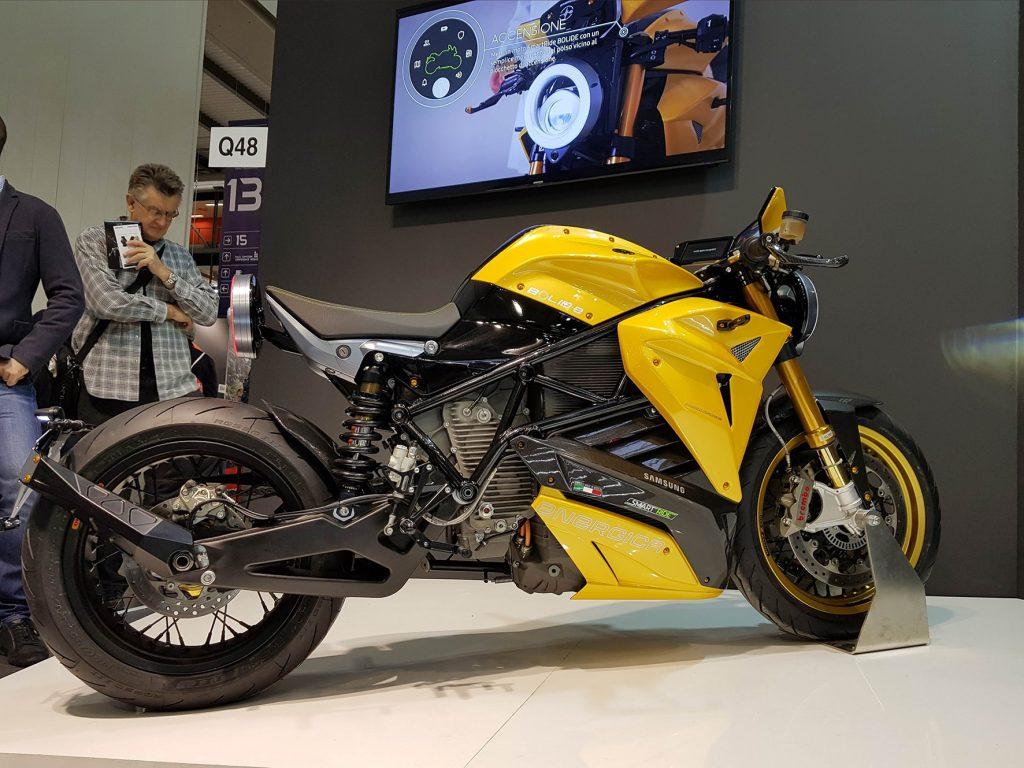 Moto Elétrica Energica Bolid-E