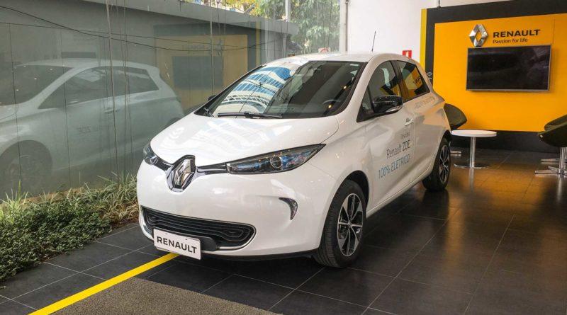 Carro Elétrico Renault Zoe