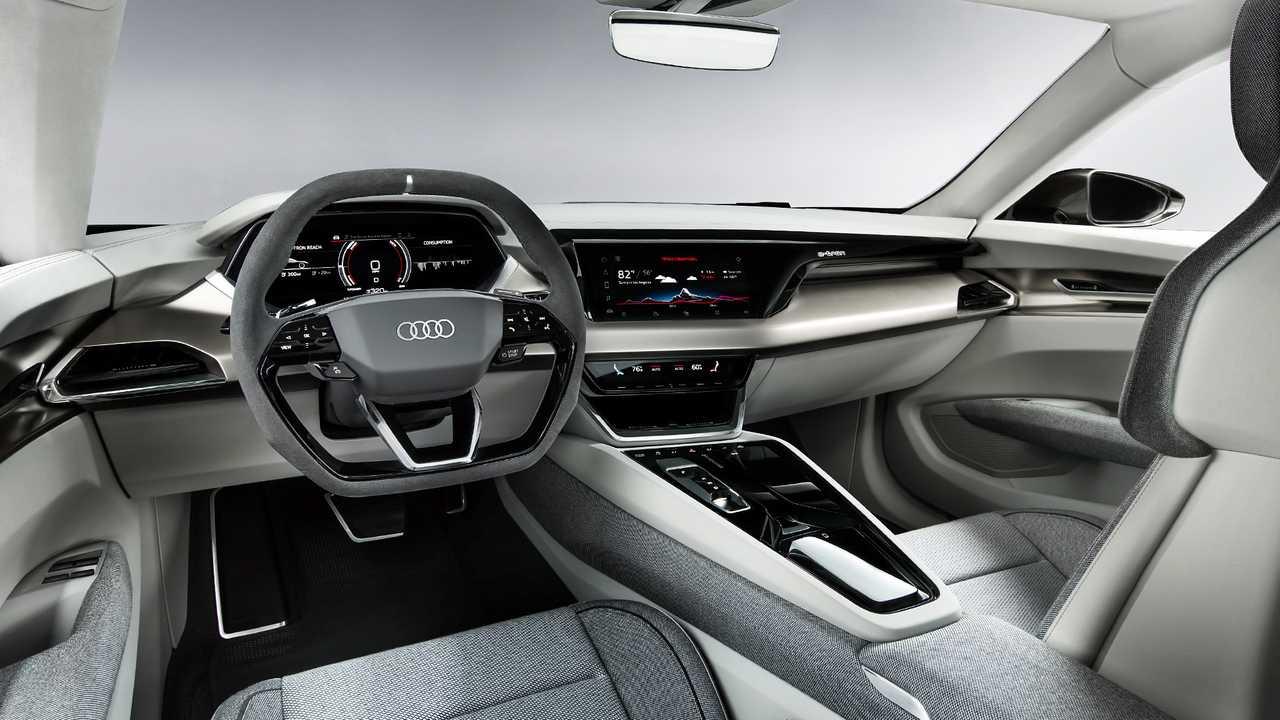 Interior do Audi e-tron GT