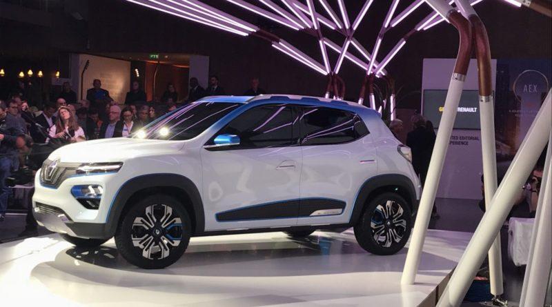 Renault K-Ze Elétrico