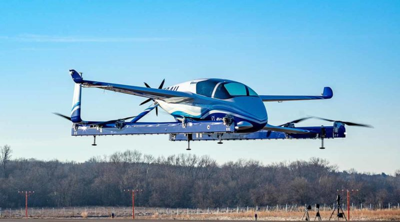 Veículo Voador Elétrico da Boeing