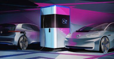 Proposta de Estação de Recarga de Carros Elétricos da Volkswagen