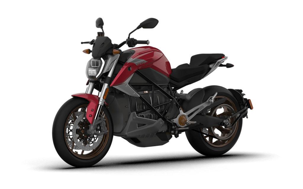 Moto elétrica Zero Motorcycles SR/F