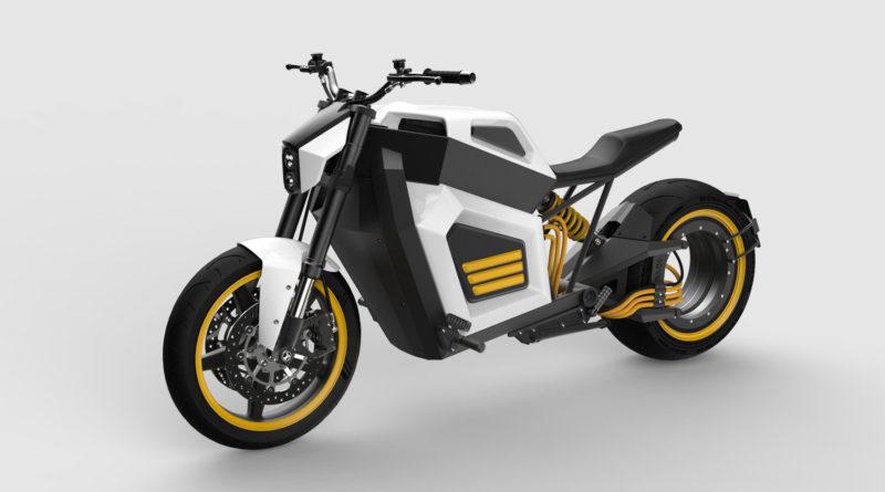 Moto Elétrica RMK E2