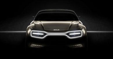 Conceito de carro elétrico da Kia no Salão de Genebra