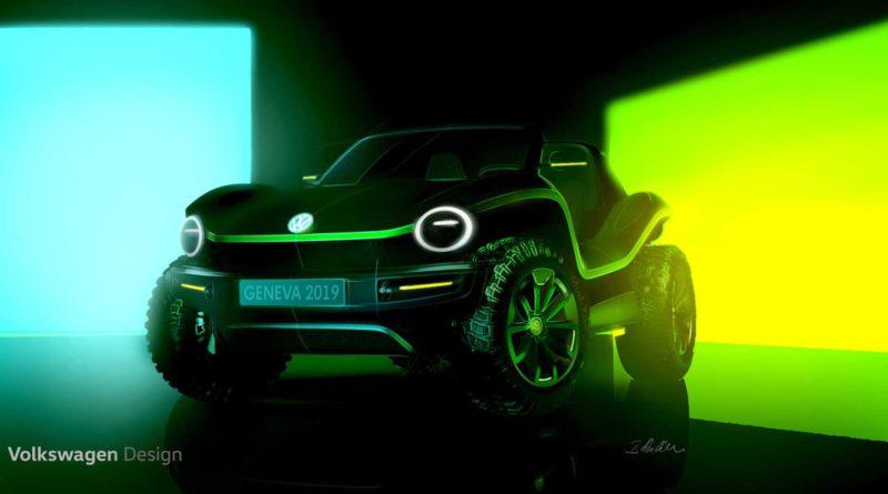 Volkswagen Dune Buggy Elétrico