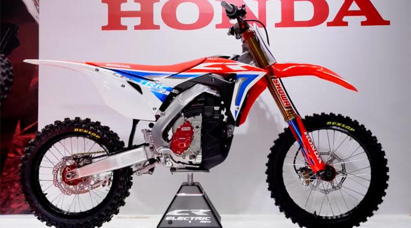 Protótipo de moto elétrica Honda CR Electric