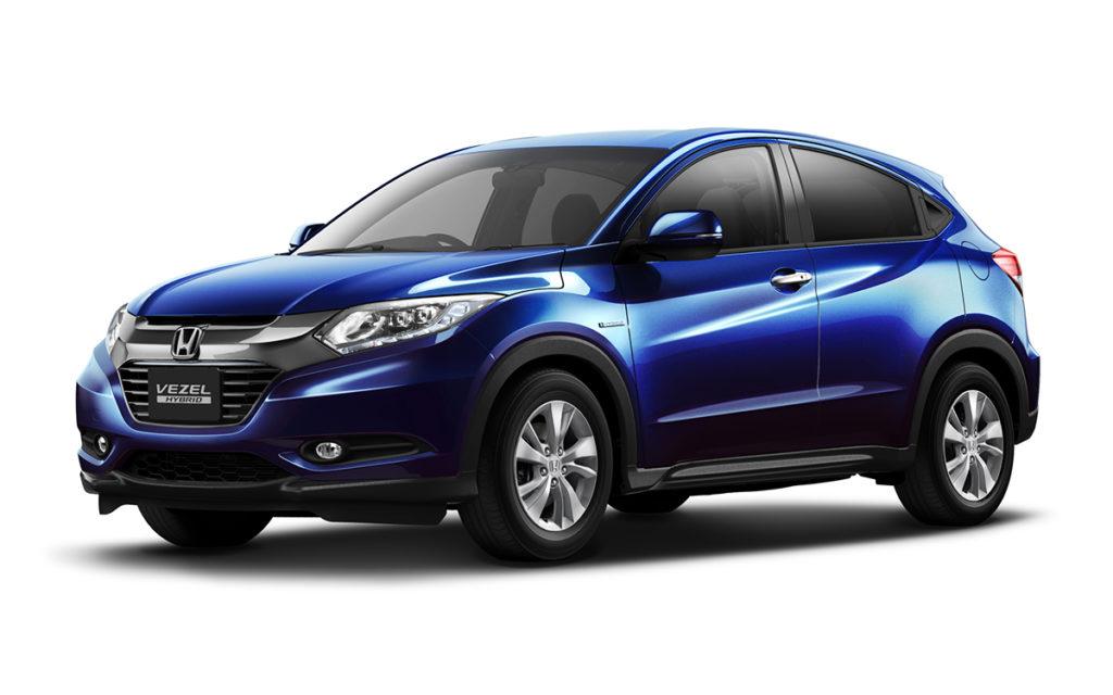 Honda HR-V Híbrido é vendido no Japão como Vezes (Foto: Divulgação)