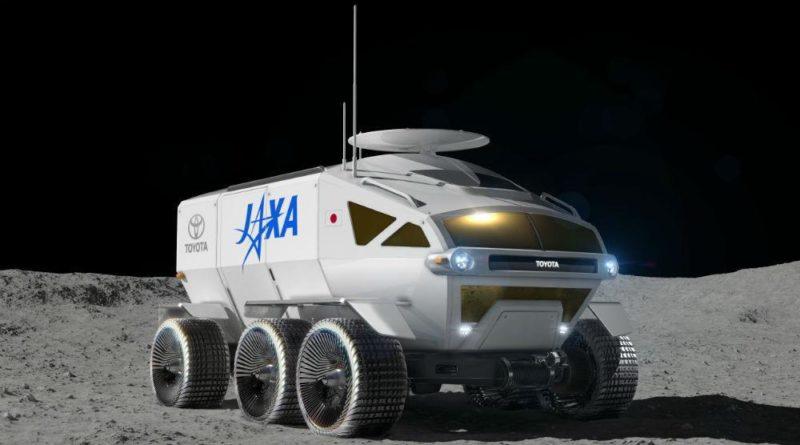 Toyota - Carro Elétrico Lua