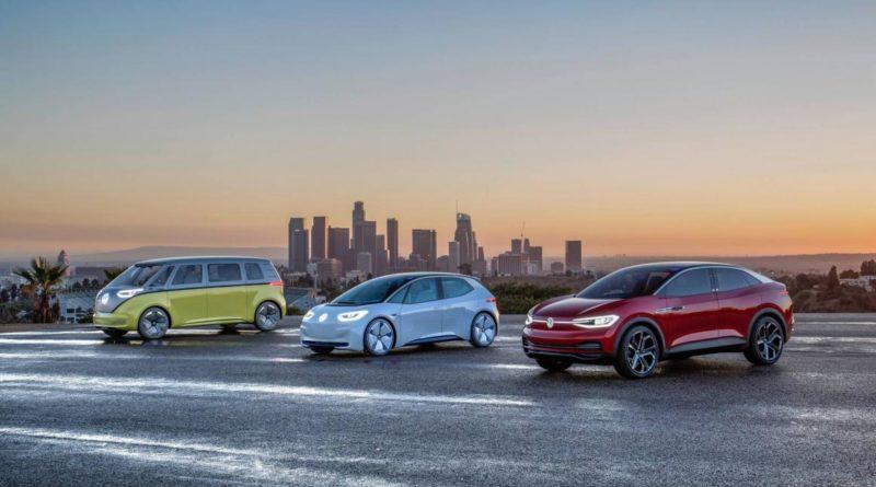 Protótipos de Carros Elétricos da Volkswagen
