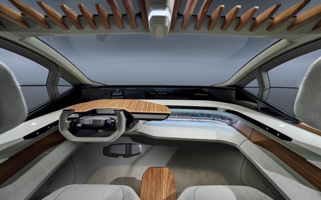 Interior do Audi AI:ME