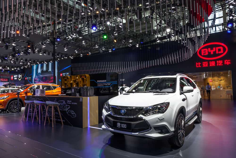 Showroom da BYD