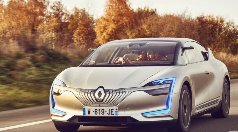 Conceito de carro elétrico Renault Symbioz