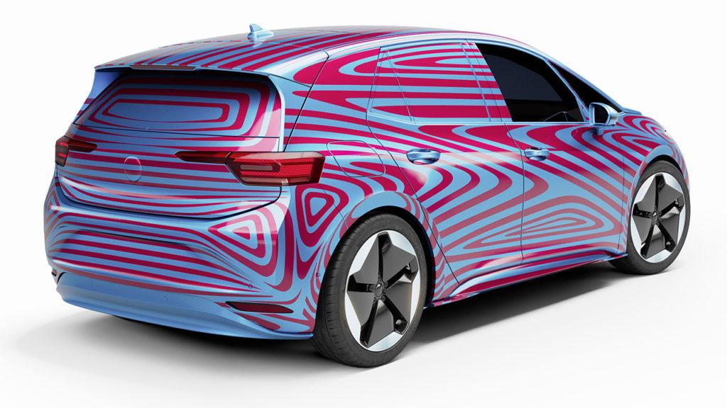 ID.3 será o elétrico de maior volume da VW (Volkswagen/Divulgação)