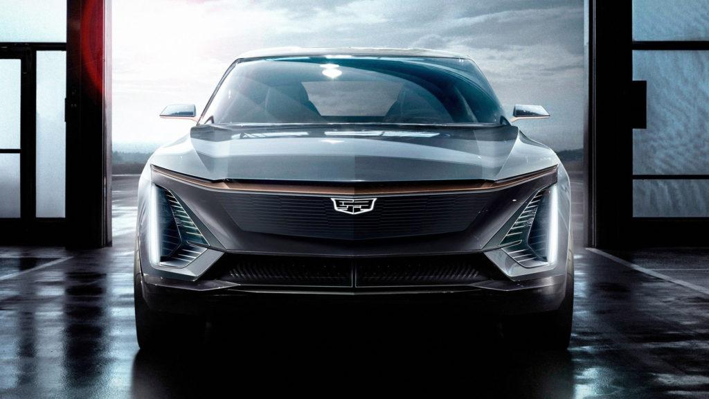 Protótipo de carro elétrico da Cadillac