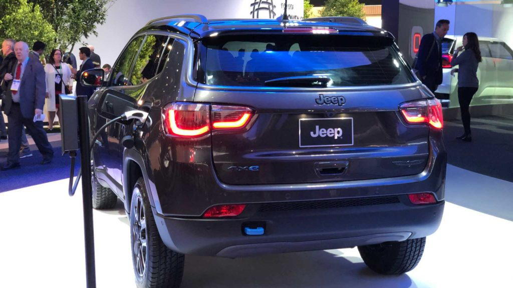 Jeep Compass Híbrido Plug-in na CES 2020
