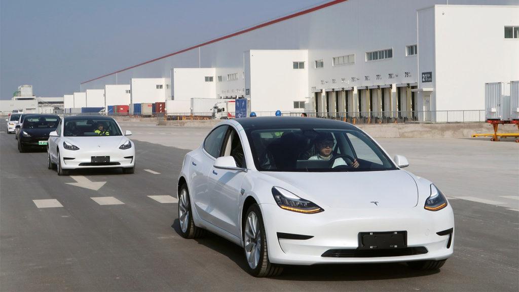 Fábrica da Tesla na China