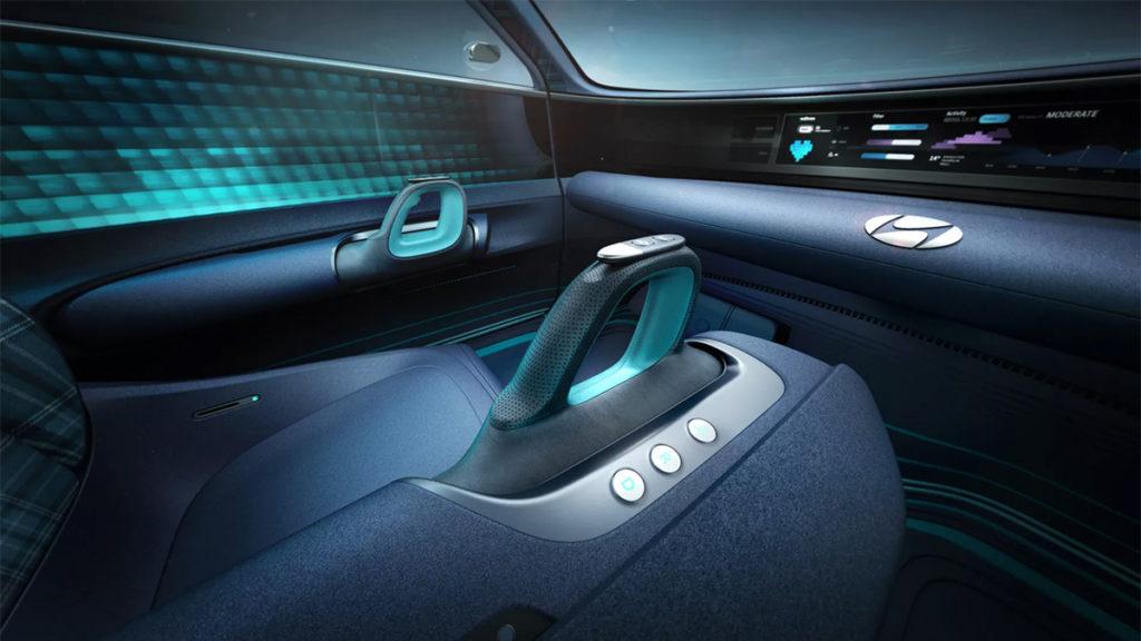 Interior do Hyundai Prophecy