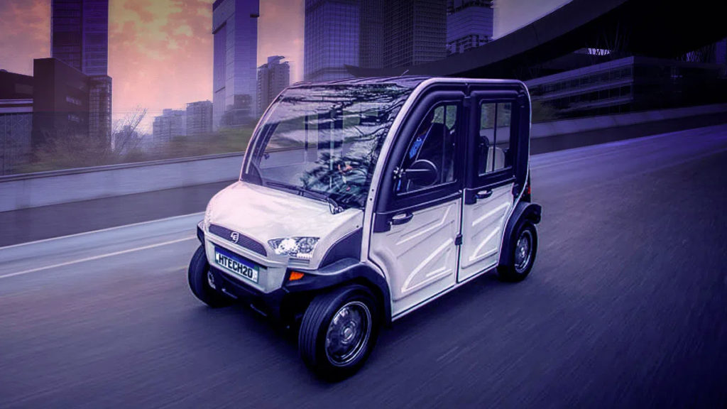 Carro elétrico e.coTech 4