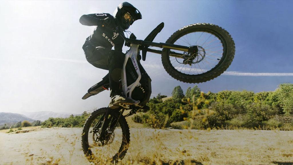 Moto elétrica Segway Dirt eBike