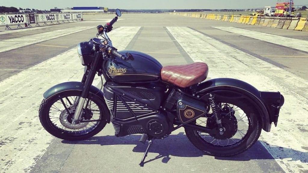 Moto elétrica Royal Enfield Photon