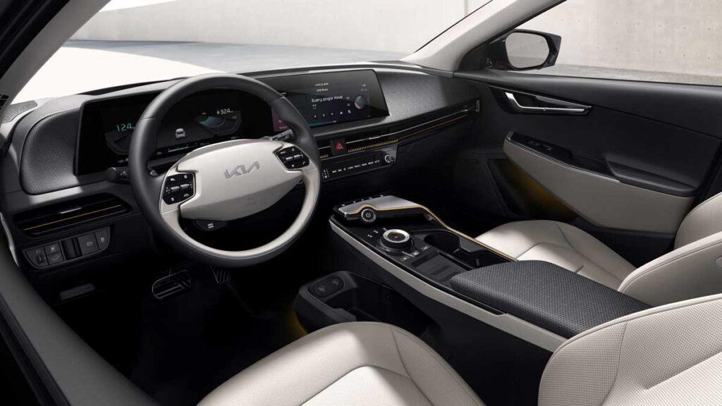 Interior do Kia EV6