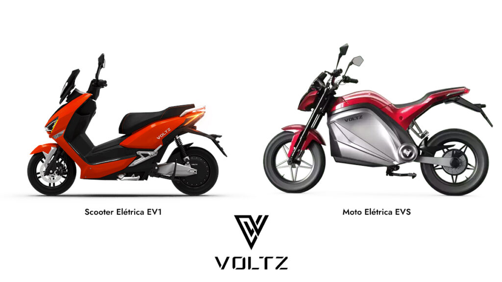 Scooter e Moto Elétrica da Voltz Motors