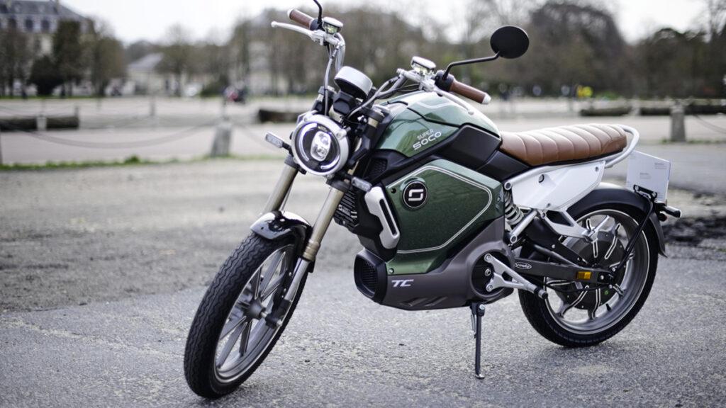 Moto elétrica Super Soco TC