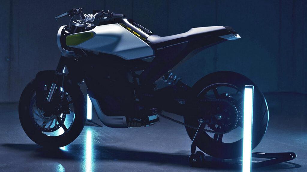 Conceito de moto elétrica E-Pilen da Husqvarna