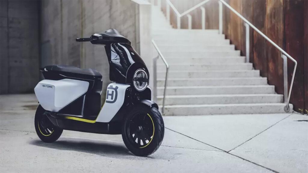 Conceito de scooter elétrica Vektorr da Husqvarna