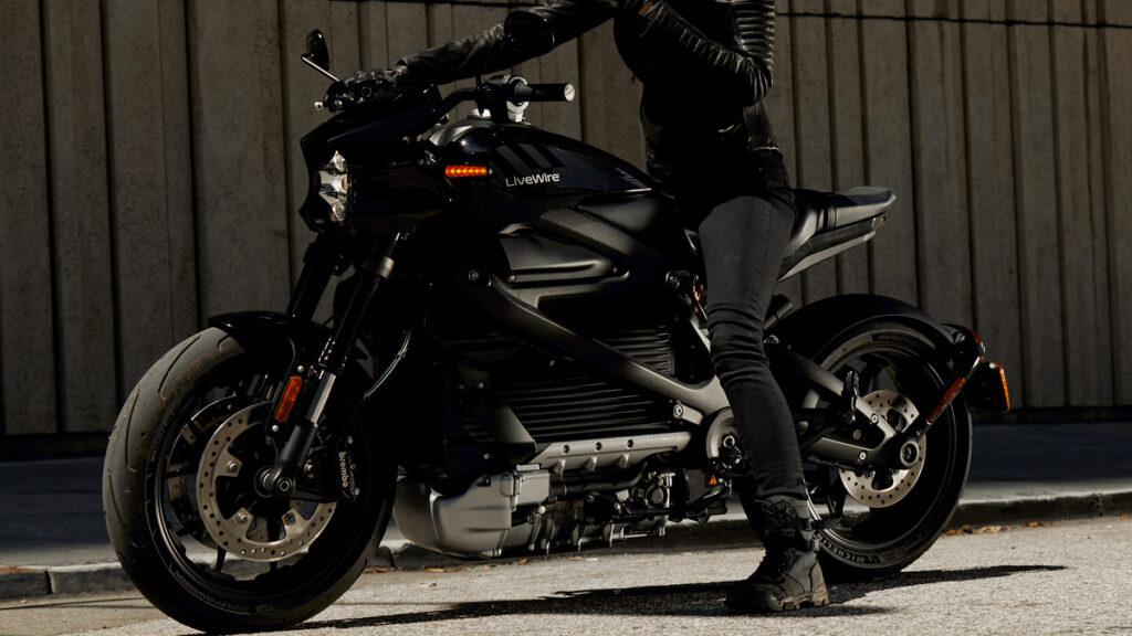 Moto elétrica Harley-Davidson LiveWire