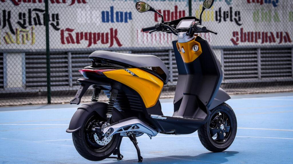 Scooter elétrica Piaggio One